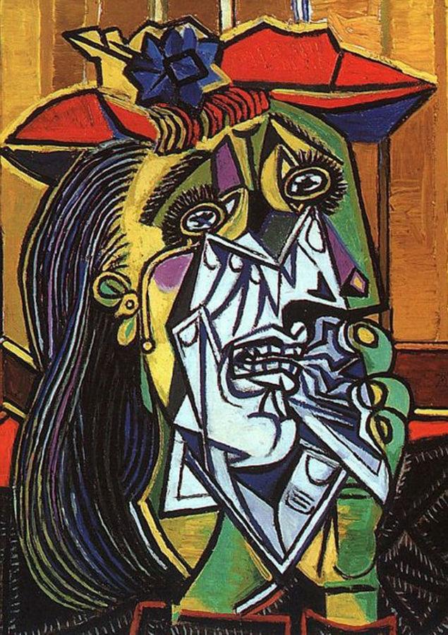 Cuadro de Picasso para ilustrar el tratamiento psicoanalitico para la depresion
